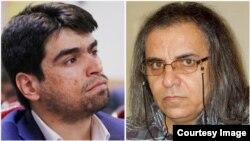 احسان مازندرانی (چپ) و محمدصدیق کبودوند