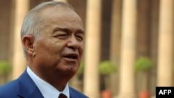 Ислам Каримов, президент Узбекистана.