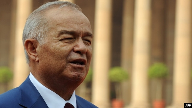 Uzbek President Islam Karimov (in file photo) runs one of the most repressive regimes in the world.