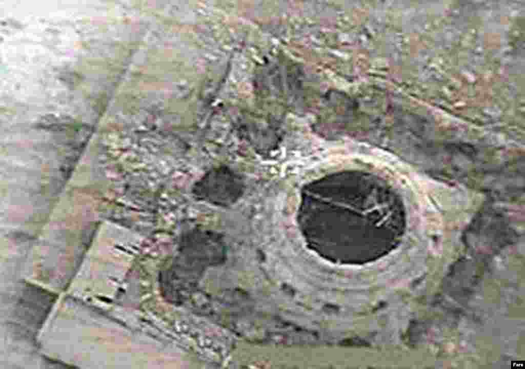 An aerial view of the Al-Askari Mosque following the June 13 bombing (Fars) - The February 2006 attack on the mosque set off a wave of sectarian violence that left thousands dead across the country and brought Iraq to the brink of civil war.