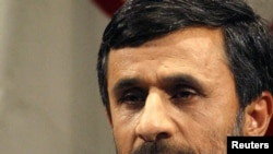 "President Mahmud Ahmadinejad: ""It's a punishment to teach them a lesson to know how to have a dialogue with nations."""