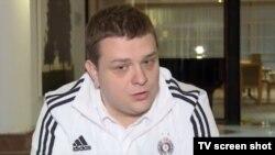 Miloš Vazura nakon napada