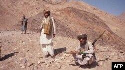 """Ооганстан. """"Талибан"""" кыймылынын жоочулары."""