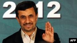 Президент Ирана Махмуд Ахмадинежад. Исламабад, 17 февраля 2012 года.