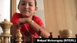 Қазақстан федерациясына кіретін шахматшылардың бірі Жансая Әбдімәлік