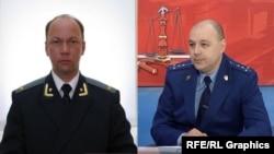 Прокуроры Сергей Булгаков и Александр Домбровский