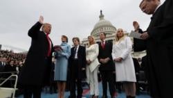 Amerikai beiktatási ünnepségek: erős jelképek