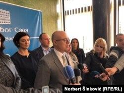 Niti nas interesuje stav POKS-a niti podržavamo stav Lige: Miloš Vučević