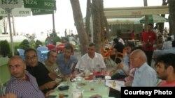 Azad Yazarlar Ocağının toplantısı. 11 avqust 2010