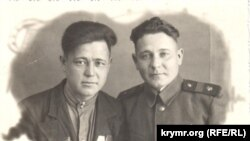Дед автора (слева) со своим боевым товарищем