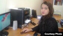 Завуч по воспитательной работе гимназии № 175 «Жана Гасыр» Айнур Еркинкызы. Алматы, 18 декабря, 2015 года.
