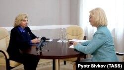 За інформацією Москалькової, вона і Денісова «обмінялися списками щодо громадян, які потребують гуманітарної підтримки» (фото архівне)