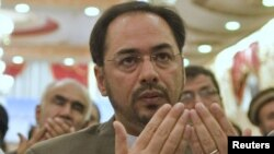 "Salahuddin Rabbani has expressed his readiness to ensure ""security and stability"" in Afghanistan by establishing peace."