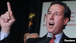 Republican presidential candidate Rick Santorum said Afghanistan should apologize to the U.S.