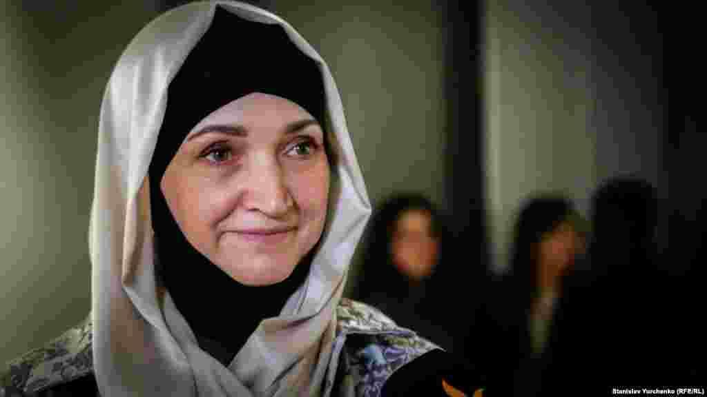 Жена крымского политзаключенного Муслима Алиева Наджие