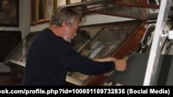 Владимир Мелихов в Музее антибольшевистского сопротивления в Подольске