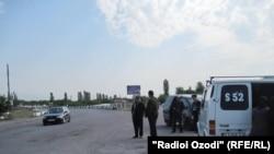 У таджикско-кыргызской границы. Иллюстративное фото.