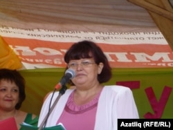 Тусказан мәктәбе укытучысы Асия Назырова