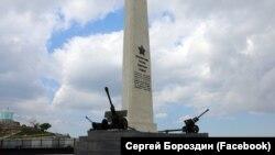 Обелиск на горе Митридат, Керчь, Крым