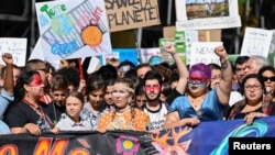 Ýetginjek klimat aktiwisti Greta Thunberg, Montreal