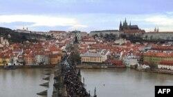Прага қаласы. Көрнекі сурет