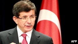 Министр иностранных дел Турции Ахмет Давутоглу