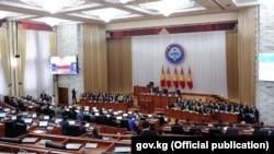 Қырғызстан парламентінің жиыны (Көрнекі сурет).