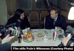 Владимир Путин с Виталием Манским, 6 марта 2000 года