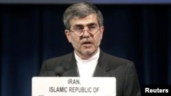 The head of Iran's Atomic Energy Organization Fereydoun Abbasi-Davani.