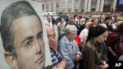 Петербург: акция в поддержку Ходорковского в день его 48-летия 26 июня 2011 года