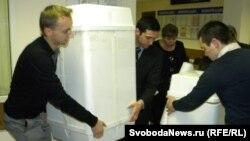 На одном из московских избирательных участков