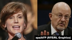 Former U.S. Acting Attorney General Sally Yates (left) and James Clapper, the director of national intelligence for former U.S. President Barack Obama. (composite file photo)