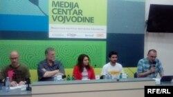 Vladimir Marović, Đokica Jovanović, Sanja Kljajić, Andrija Stojanović i Dinko Gruhonjić