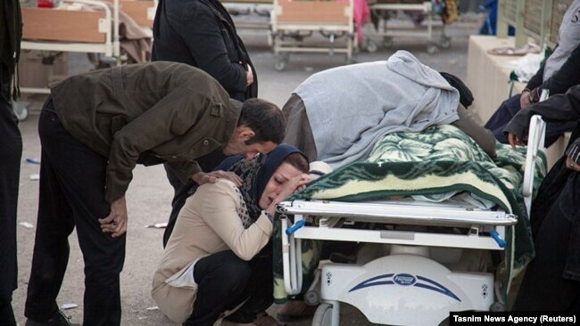 زمینلرزه ۷.۳ ریشتری در استان کرمانشاه