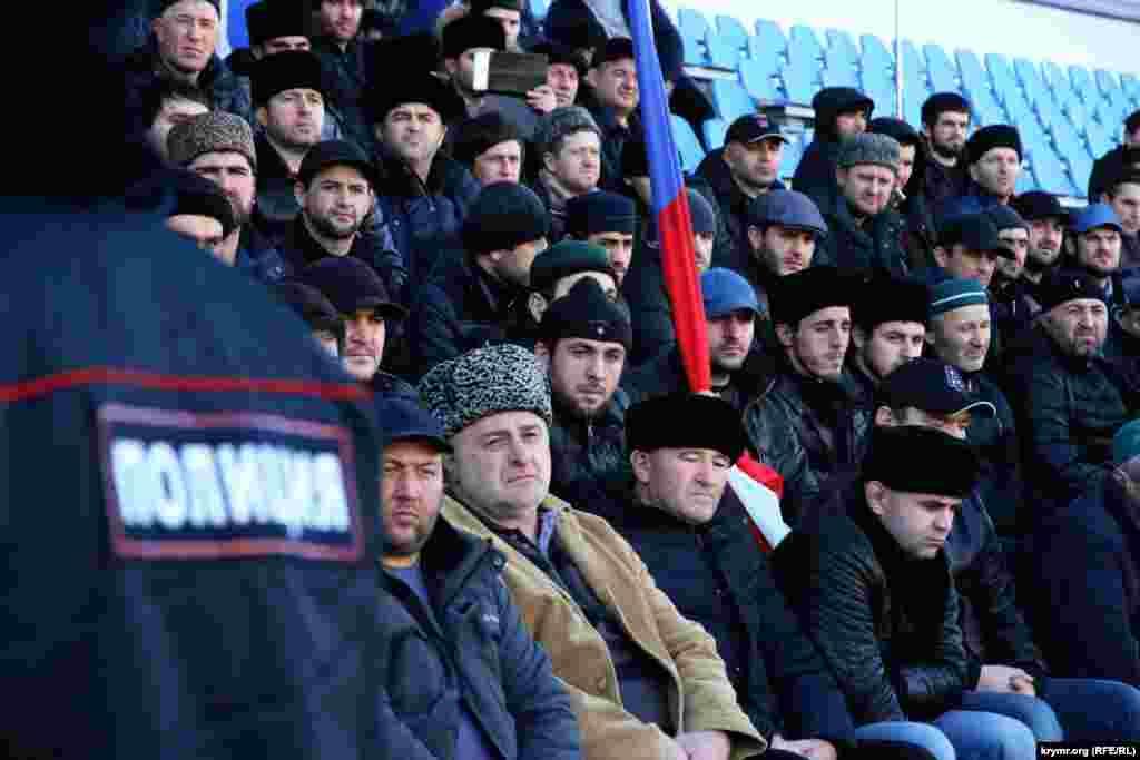За порядком на стадіоні «Фіолент» де проходив захід, стежили місцеві правоохоронці
