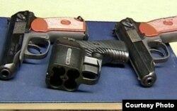 Травматические и газовые пистолеты, практически свободно продающиеся в России