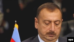 An unauthorized photo of President Ilham Aliyev?