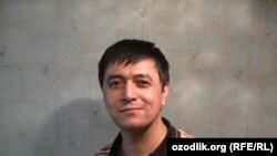 Hibsdan ozod etilgan Abdusami Rahmonov.