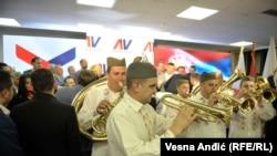 Proslava pobede Aleksandra Vučića na predsedničkim izborima 2. aprila 2017.