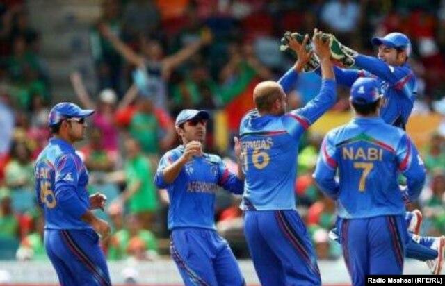 تیم ملی کرکت افغانستان قهرمان سلسله مسابقات یک روزۀ ۵۰ آوره شد