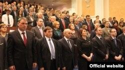 Fotografi nga përvjetori i shtatë i nënshkrimit të Kushtetutës së Kosovës