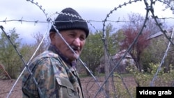Russian troops recently placed barbed wire along the administrative line separating the breakaway region of South Ossetia from Georgia. (file photo)