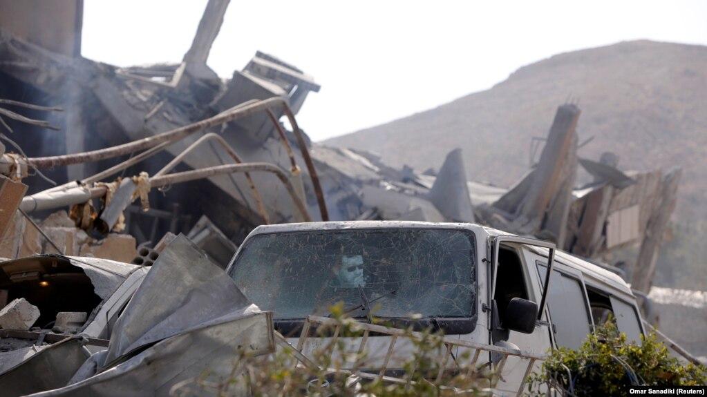 Centrul de Cercetări Științice de la Damasc distrus de bombardamentele de sîmbătă