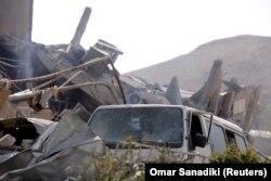Uništeni Naučni istraživački centar u Damasku
