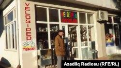 Astara, velosiped mağazası