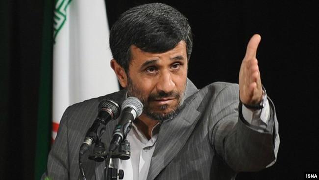 Former President Mahmud Ahmadinejad