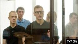 Дмитрий Пчелинцев в суде. Архивное фото
