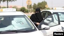 Саудиялық әйелдердің көлік жүргізуге дайындығы