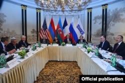 Во время переговоров в Вене по Нагорному Карабаху