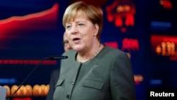 Ангела Меркель, Германия канцлері.